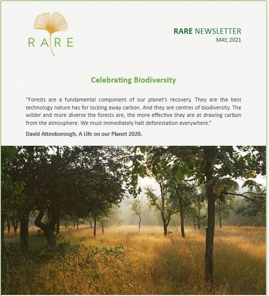 RARE Newsletter | Vol 34 | International Day for Biological Diversity