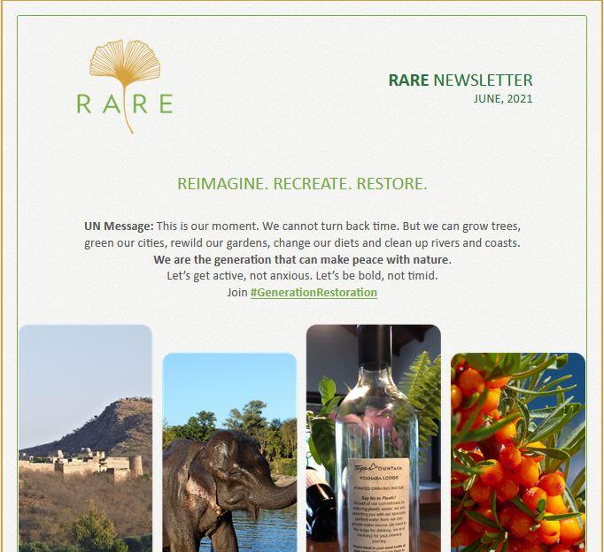 RARE Newsletter | Vol 35 | UN World Environment Day 2021: REIMAGINE. RECREATE. RESTORE