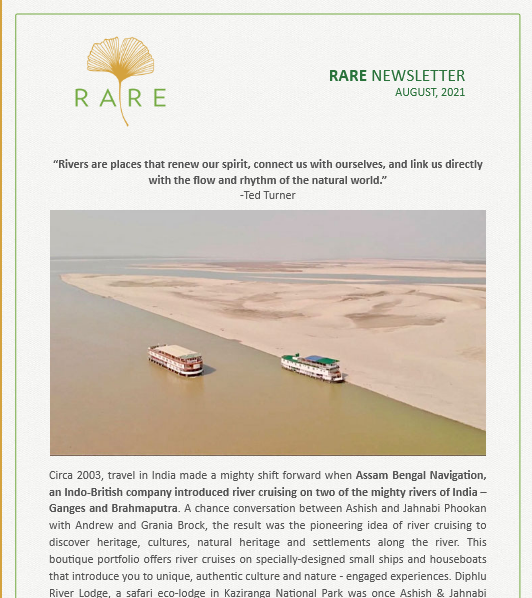 RARE Newsletter | Vol 40 | Two Rivers & A Sail Story